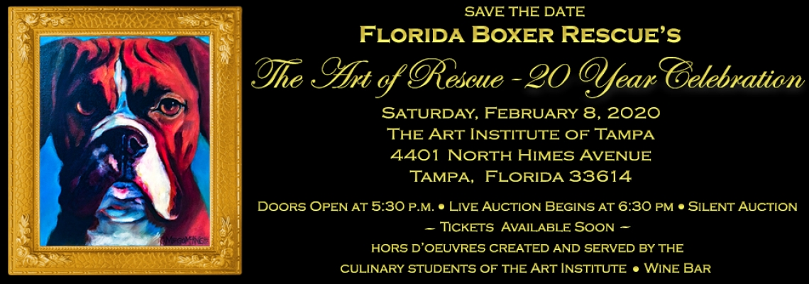 Art of Rescue webpage slider SAVE THE DATE Tickets available soon